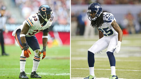 Charles Tillman and Richard Sherman