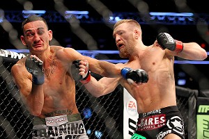 Conor McGregor and Max Holloway
