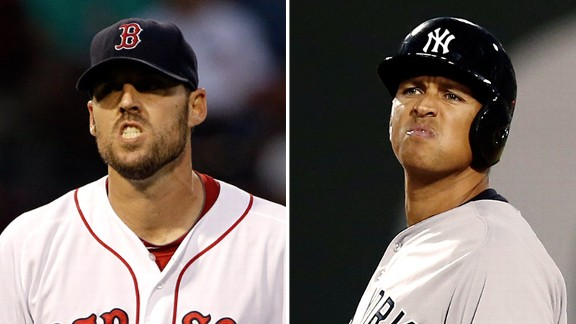 Alex Rodriguez, John Lackey