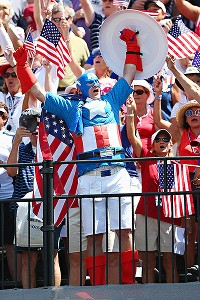 Crowds were loud and rowdy at Colorado Golf Club, with attendance estimated at 110,000 for the week.