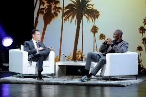 Kobe Bryant with Jimmy Kimmel