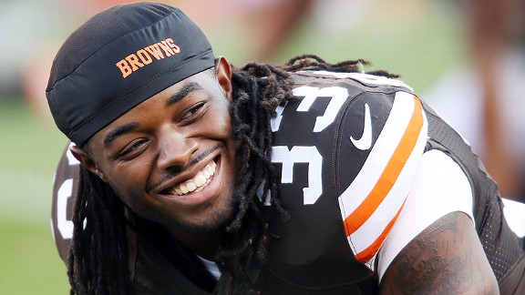 Trent Richardson will soar up #NFLRank
