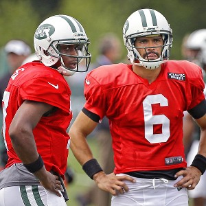 Geno Smith and Mark Sanchez