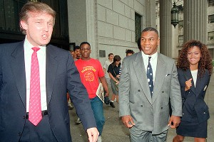 Donald Trump, Mike Tyson