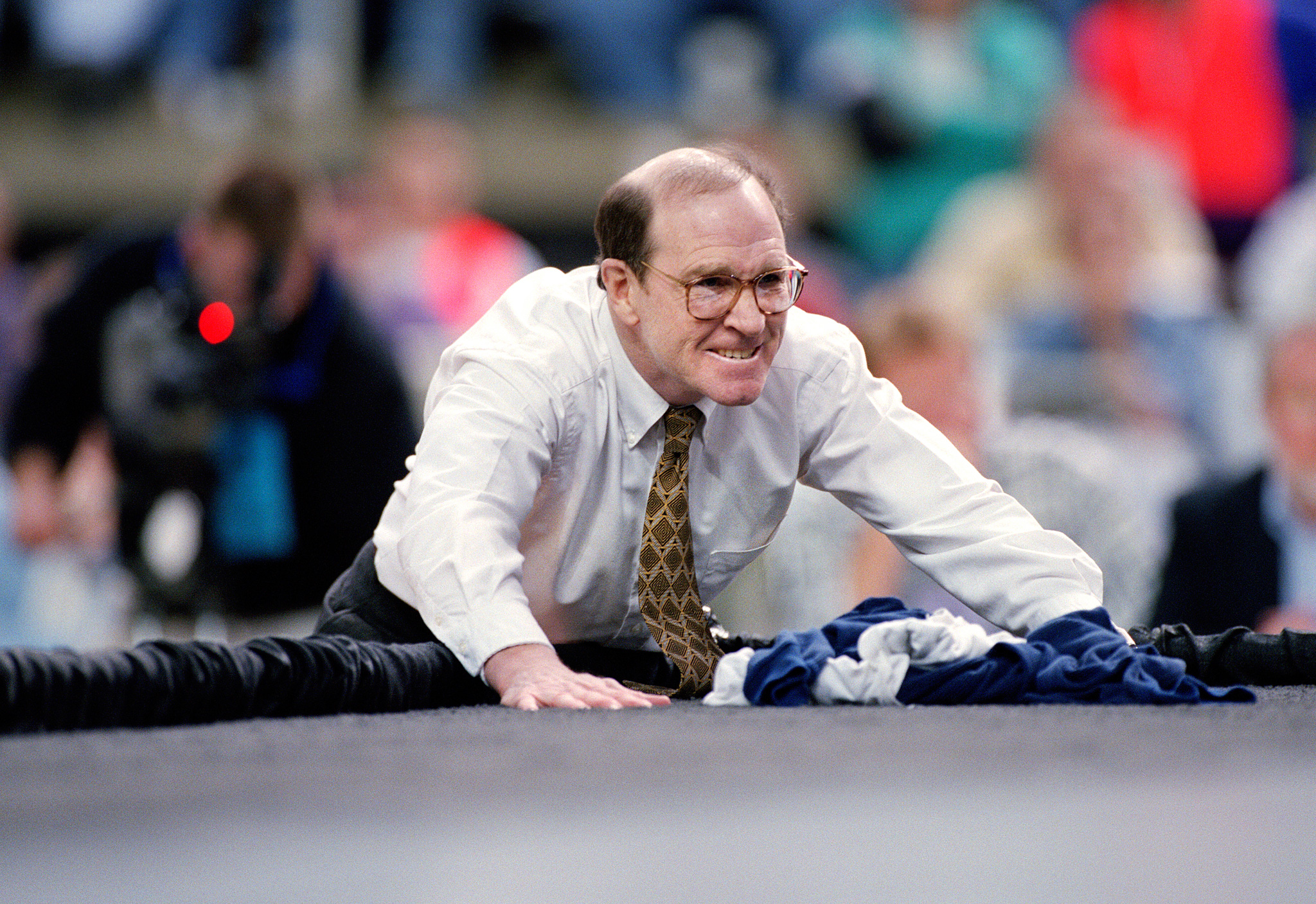 Dan Gable at the 1997 NCAA Division 1 Wrestling Championships