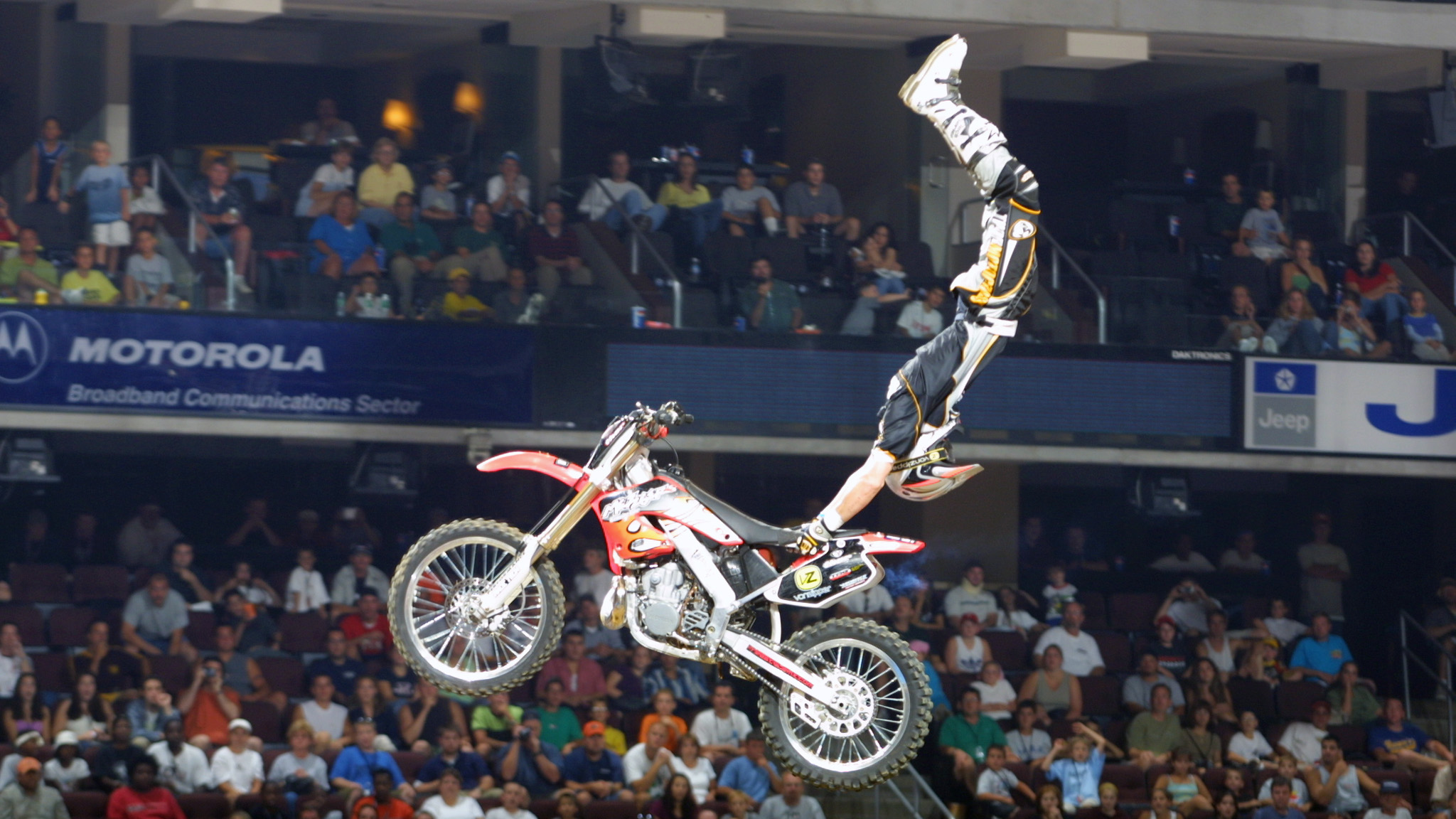 Dirt Bike X Games Freestyle Nate Adams