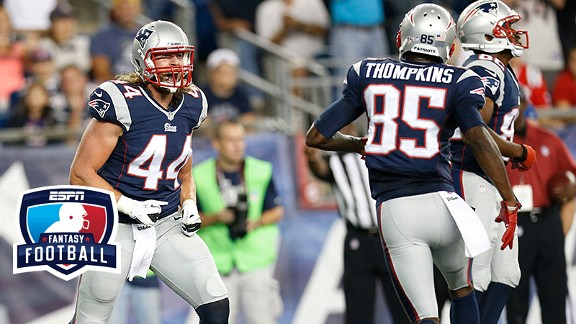Zach Sudfeld and Kenbrell Thompkins