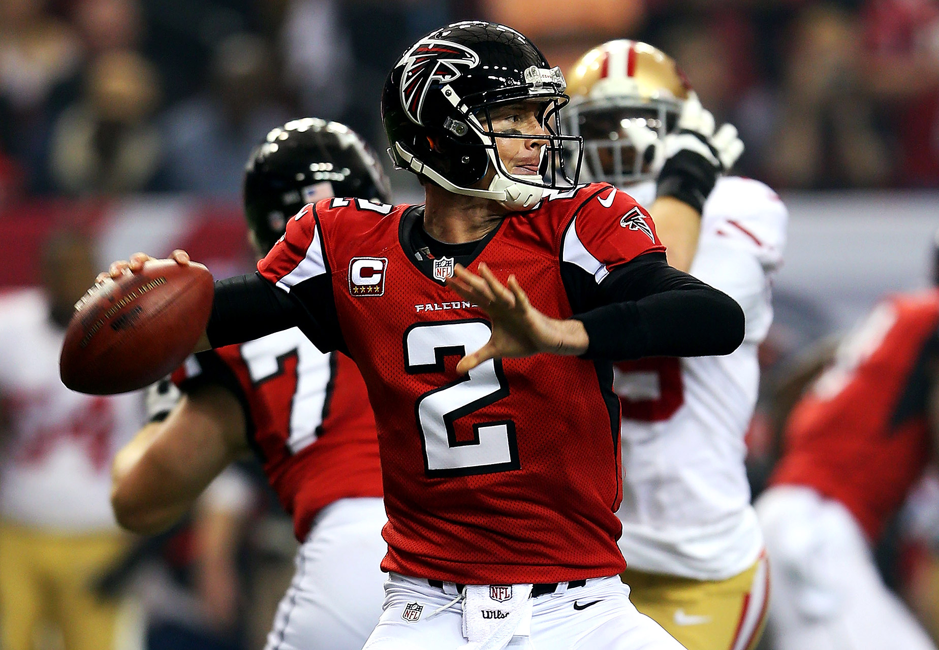 Footballplayersdeluxe Matt Ryan: #NFLRank No. 22, Offense: Matt Ryan