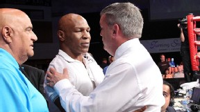 Mike Tyson and Teddy Atlas