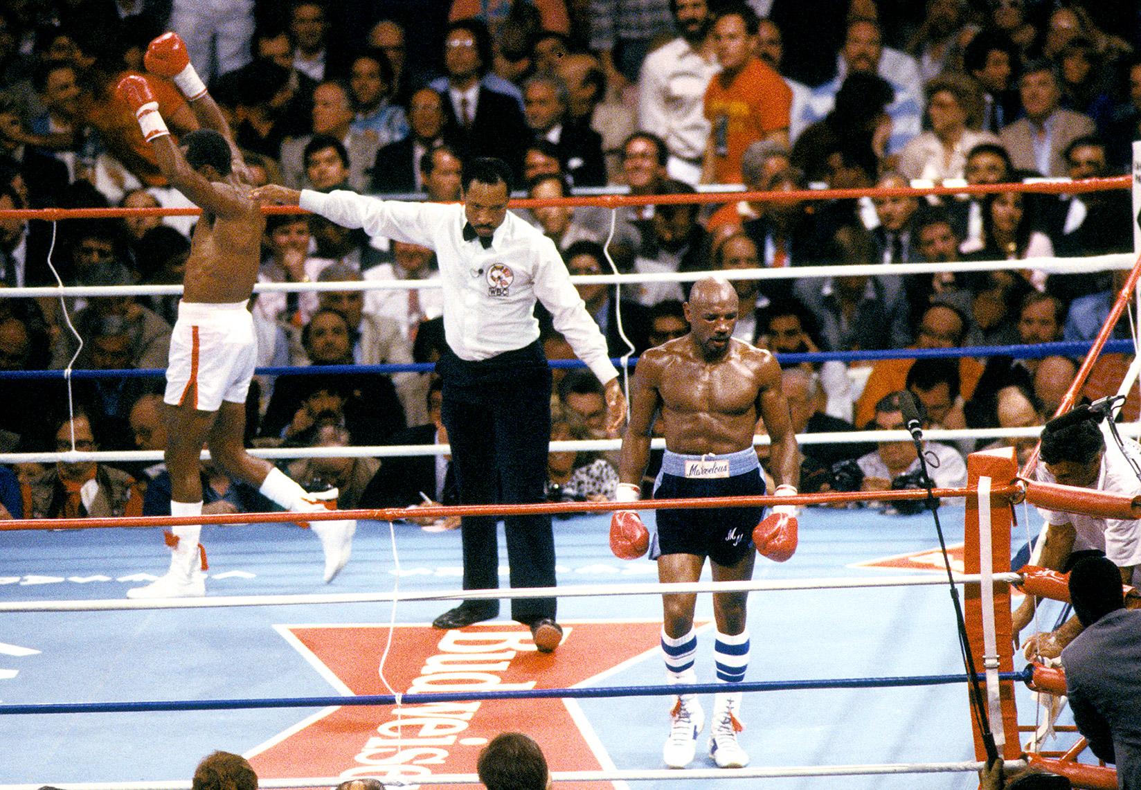 Fight To The Finish Superfights Marvin Hagler Sugar Ray