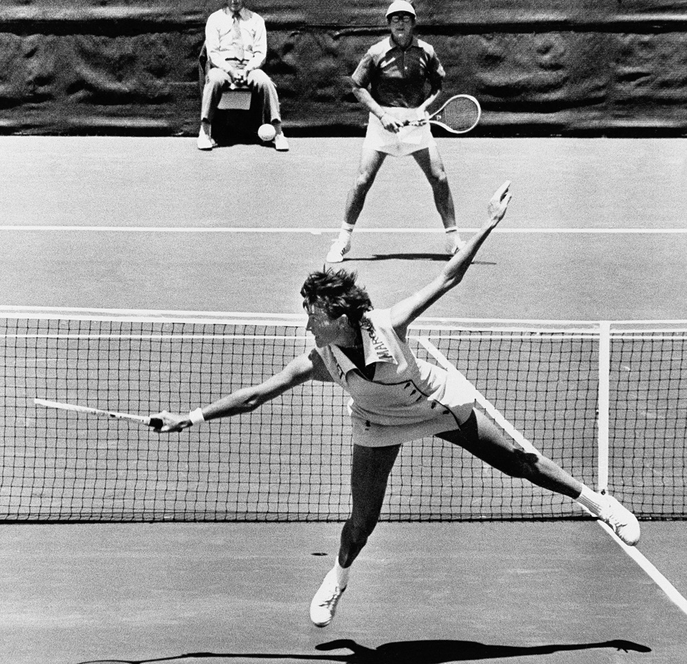 Bobby Riggs vs Margaret Court ESPN
