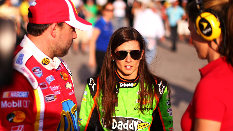 Owner/driver Tony Stewart, left, and driver Danica Patrick will welcome Kevin Harvick to the team next year and may add a fourth driver.