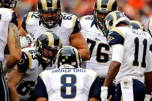 Sam Bradford and the Rams' starting offense