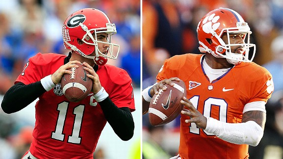 Aaron Murray and Tajh Boyd