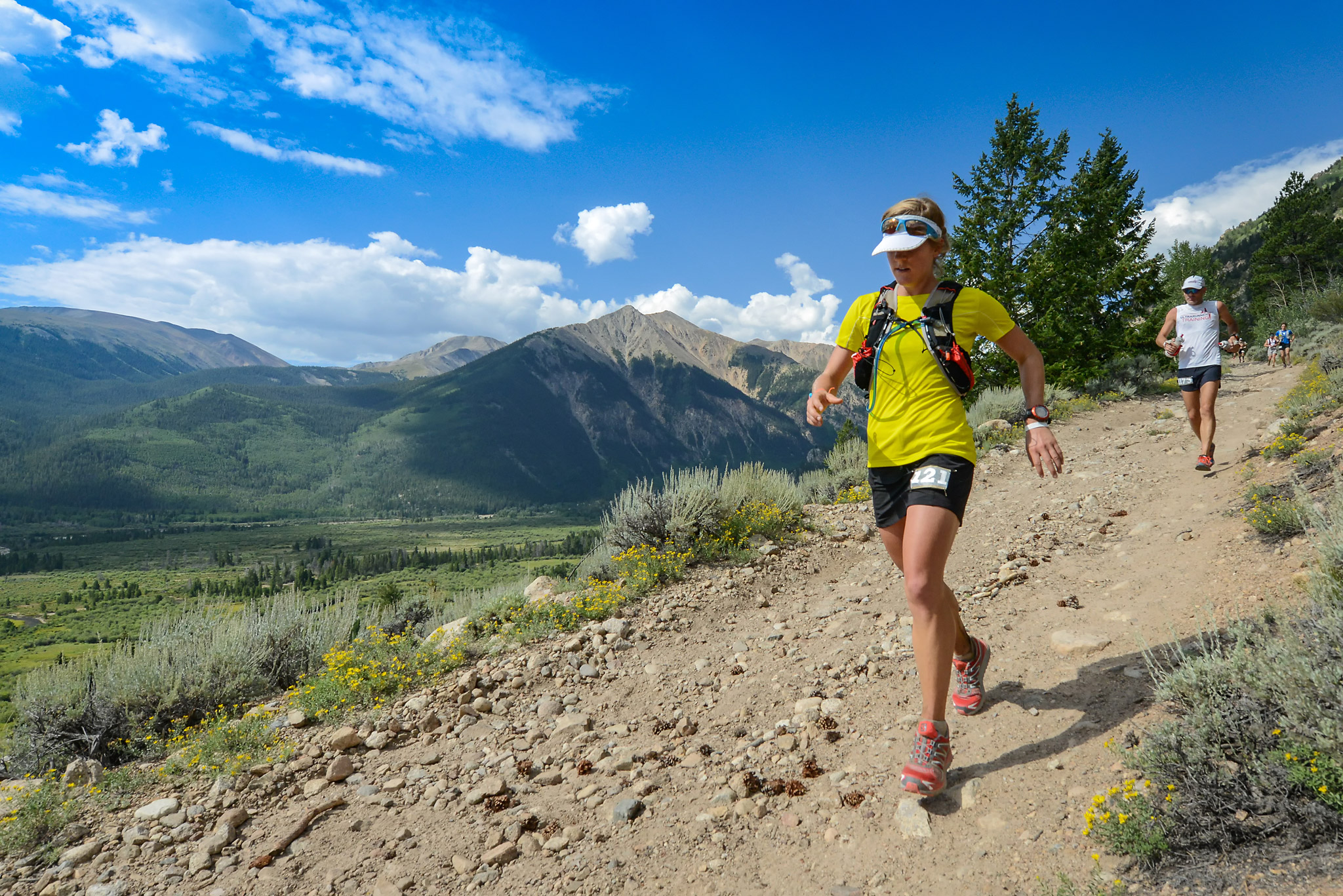 Skipping stones - Leadville 100 Ultramarathon - ESPN