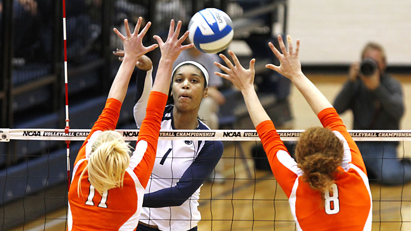 Returning Big Ten player of the year Ariel Scott will try to help Penn State win its fifth national championship in seven years.