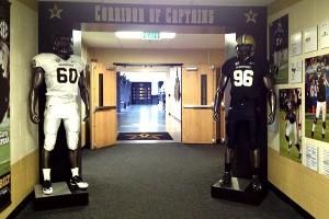 Vanderbilt corridor of captains