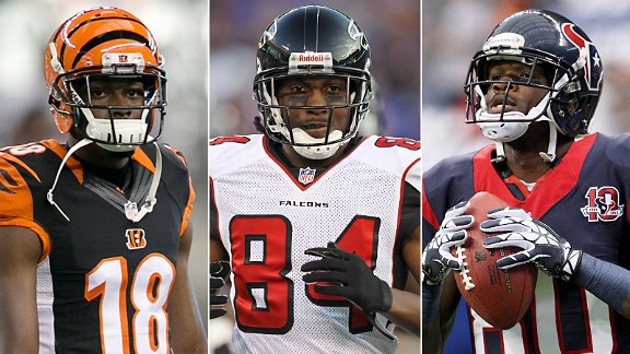 A.J. Green, Roddy White & Andre Johnson