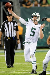Jets QB Matt Simms spectacular vs. Eagles