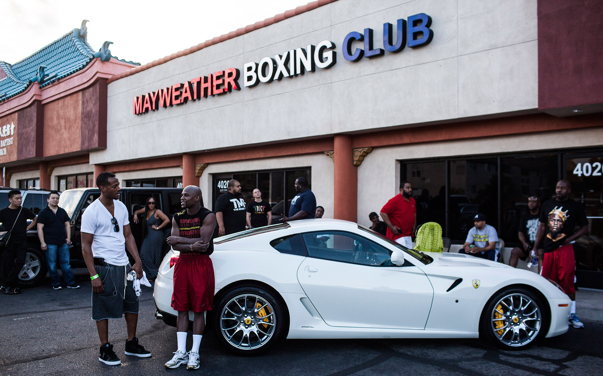 mayweather boxing club las vegas boxings most famous