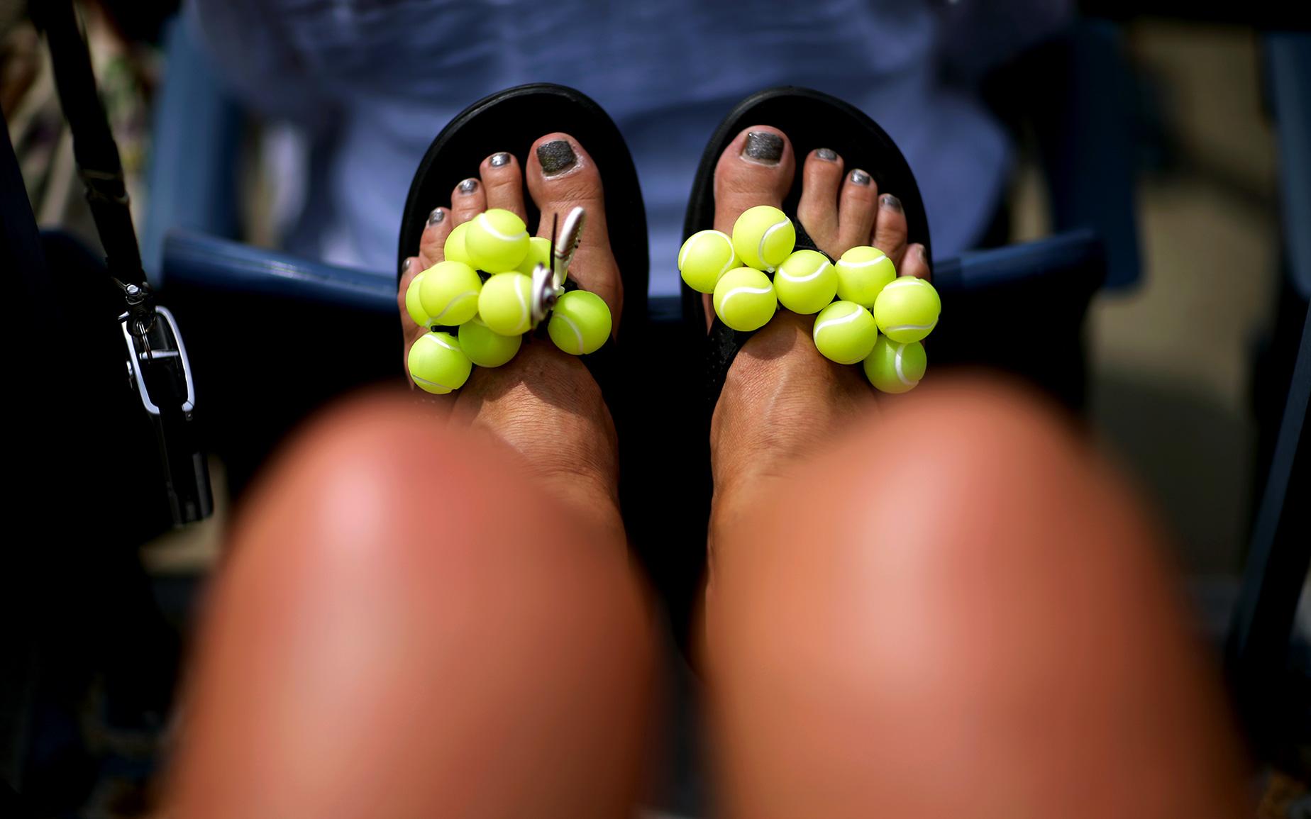 Game, Set ... Sandals