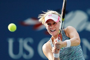 She may not have advanced to the quarterfinals, but Alison Riske made a name for herself at the US Open.