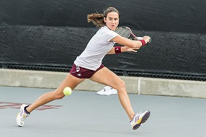 Cristina Sanchez-Quintanar was ranked fifth in the nation in singles and led Texas A&M to the runner-up spot in the national tennis tournament.