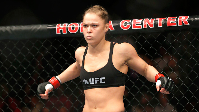 Ronda Rousey has been a hit in the octagon since switching over from judo, winning all seven of her pro fights in the first round.