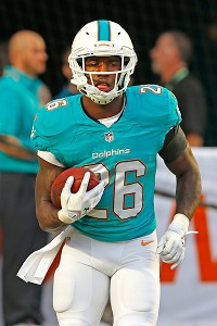 Miller starting RB on Dolphins' depth chart