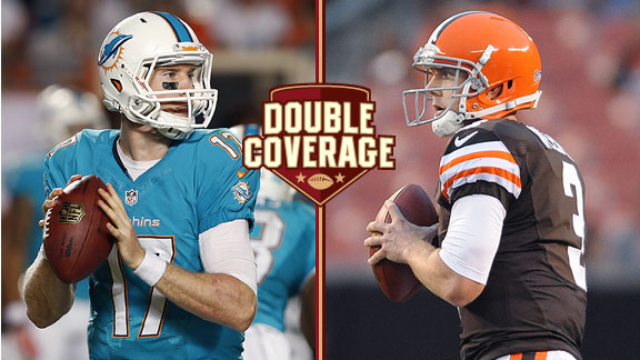 Double Coverage: Dolphins at Browns