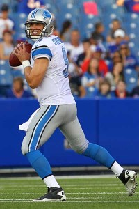 Stafford not concerned with preseason stats