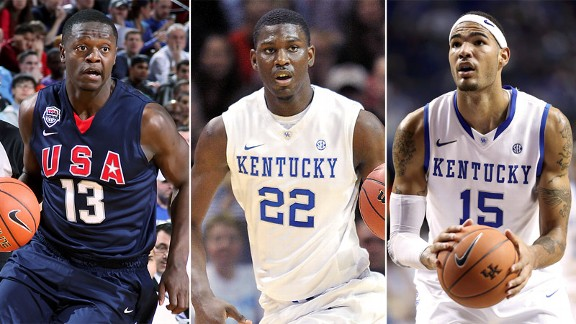 Julius Randle, Alex Poythress, Willie Cauley-Stein