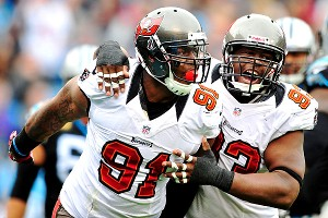 Da'Quan Bowers and Gerald McCoy