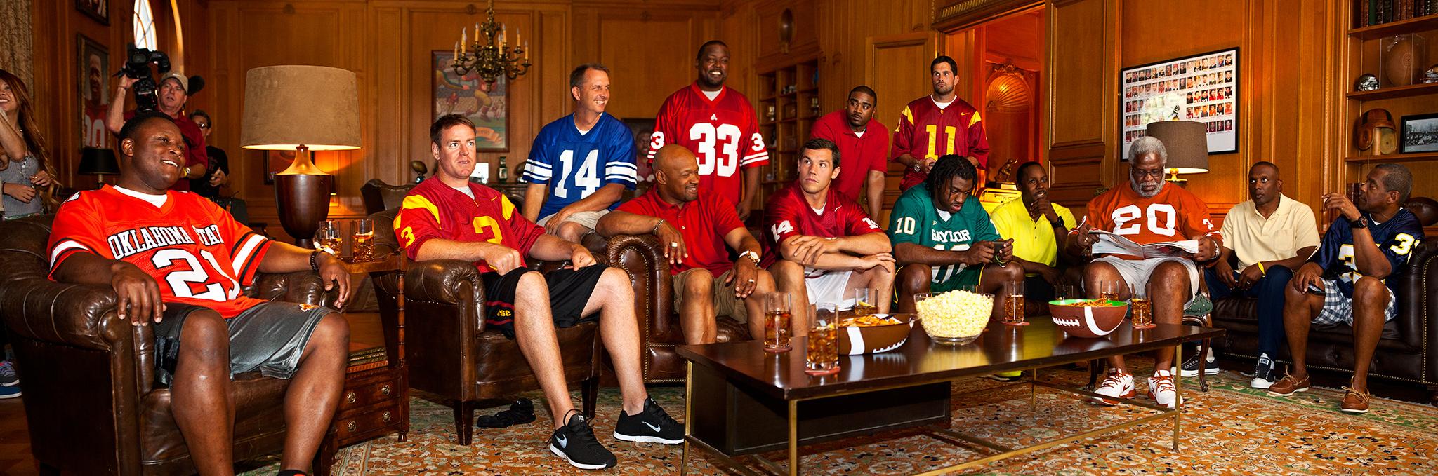 Mike Smith Nissan >> Full House - Heisman House - ESPN