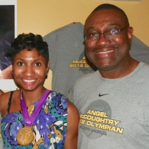 Roi McCoughtry, who played at Coppin State in the 1970s, would drive eight hours from Baltimore to watch Angel play at Louisville. Now he and his wife, Sharon, have moved to Atlanta, where Angel plays for the Dream.