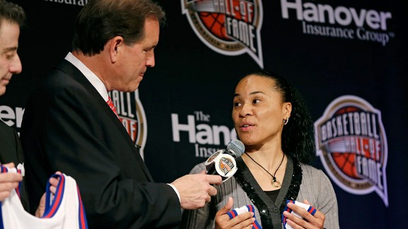 Dawn Staley, Jim Nantz