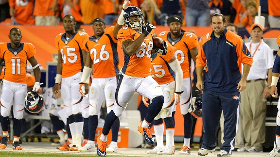 Broncos' offense puts league on notice