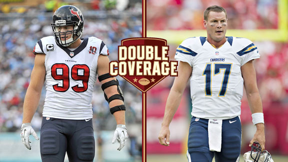 JJ Watt and Philip Rivers