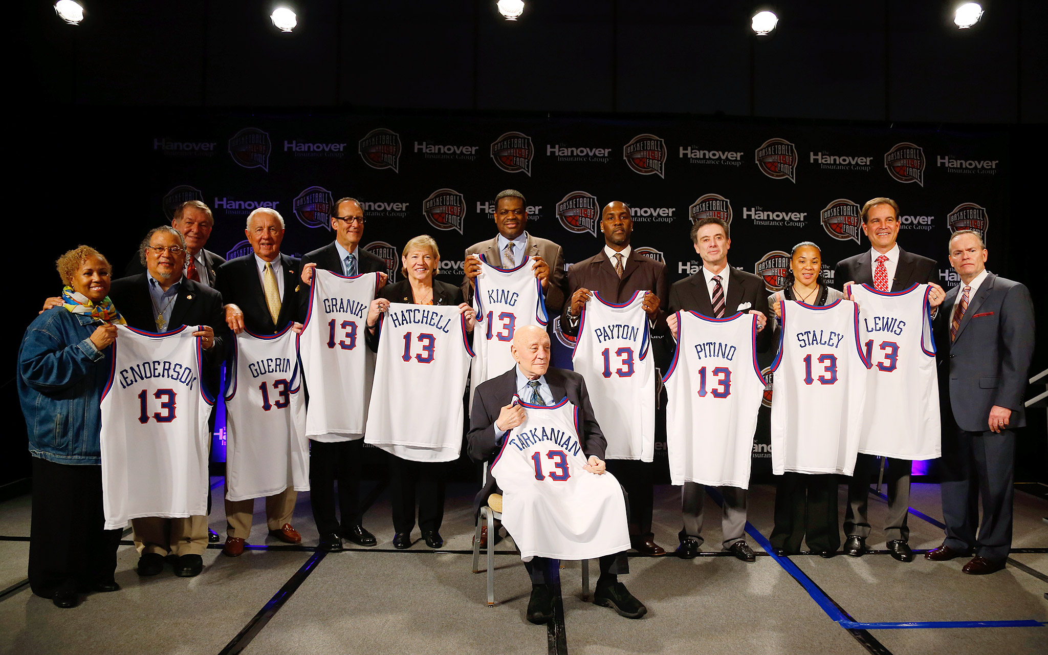 Naismith Memorial Basketball Hall of Fame Class of 2013