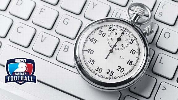 Stopwatch on a keyboard