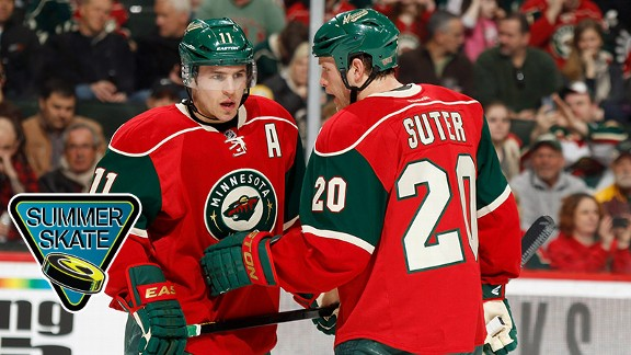 Zach Parise and Ryan Sut