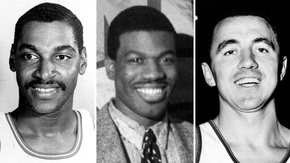 Roger Brown, Bernard King and Richie Guerin