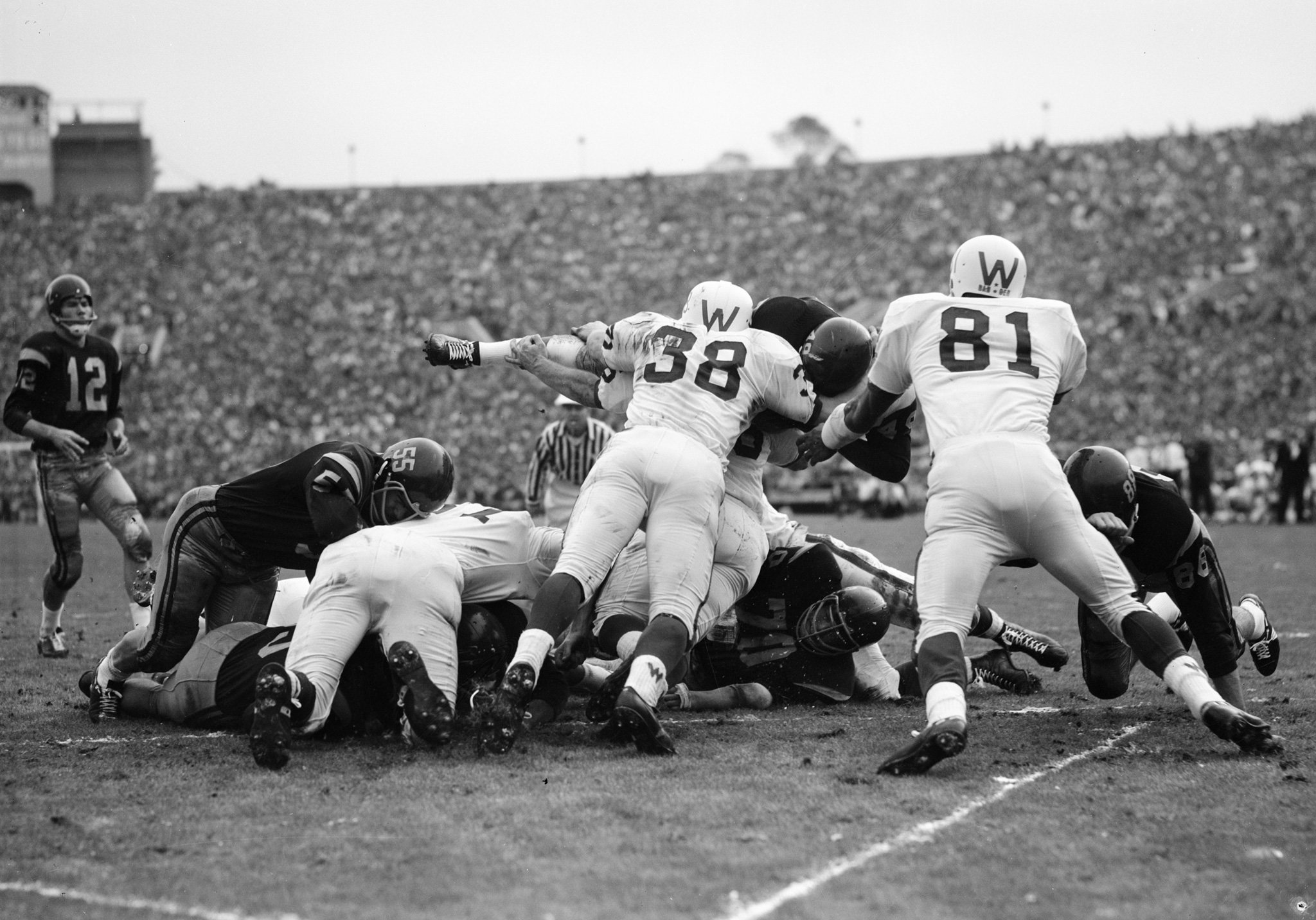 1963 Rose Bowl - 100 years of the Rose Bowl - Photo ...