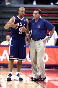 Jason Kidd, Mike Krzyzewski