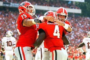 Keith Marshall, Aaron Murray, Kolton Houston