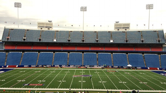 Welcome to Ralph Wilson Stadium