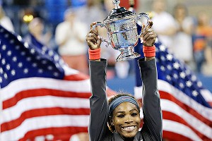 It was far from easy, but Serena Williams was able to hoist her fifth US Open championship trophy.