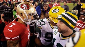 Colin Kaepernick and Aaron Rodgers