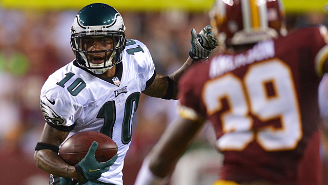 DeSean Jackson #10 of the Philadelphia Eagles