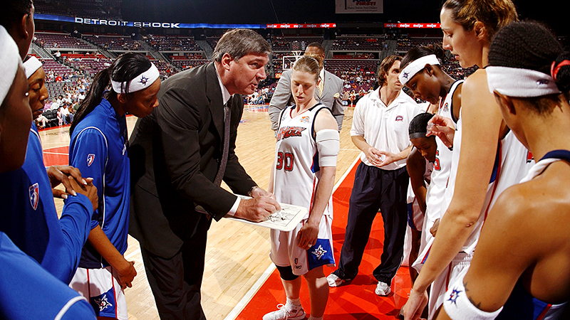 Bill Laimbeer opened up about being a coach in the WNBA. It's a passion to go out and compete, he told Robin Roberts.